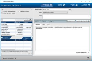 Scheda Comunicazione Pazienti - CGM XMEDICAL