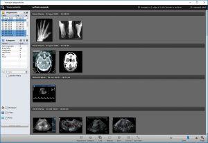 Scheda Immagini Diagnostiche - CGM XMEDICAL