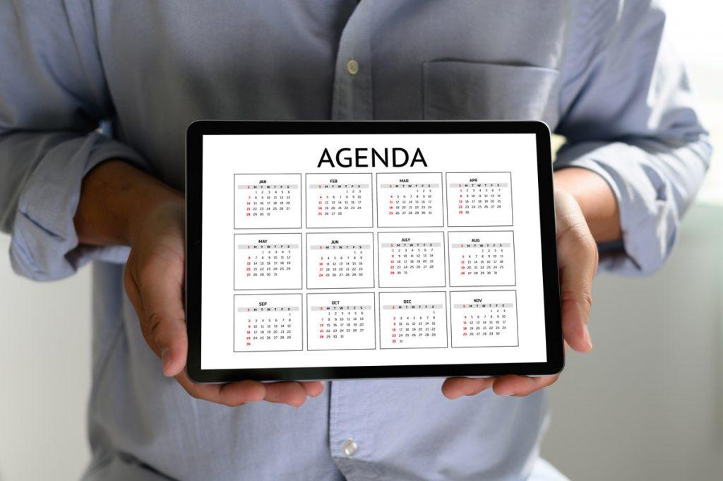 agenda appuntamenti
