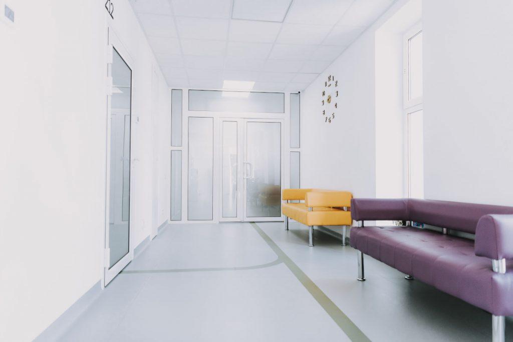 sala d'attesa poliambulatorio